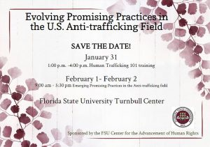FSU's Human Trafficking Conference: Educating the Community on an Issue Affecting Everyone