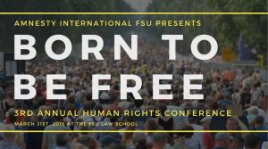 Third Annual Human Rights Conference: Born to Be Free