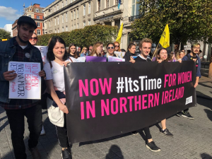 The North is Next: A Demonstration For Irish Abortion Rights