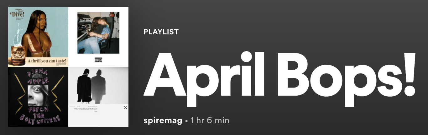 April in Music: Flops and Bops