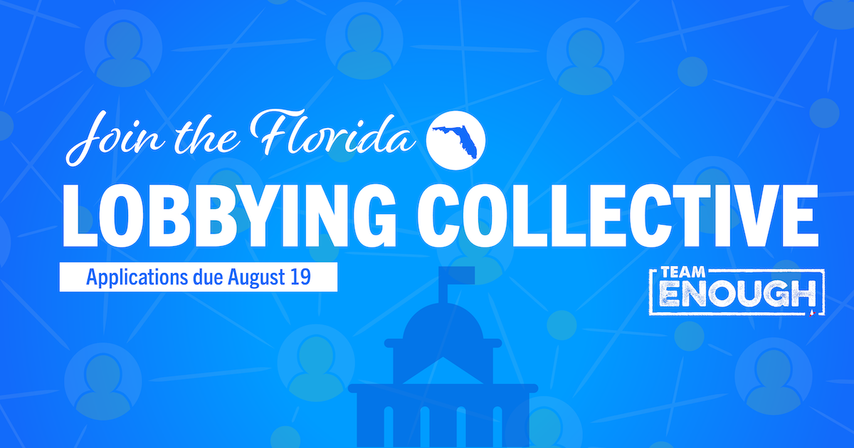 Florida Students Create Change With the Team Enough Lobbying Collective