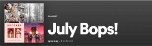 July in Music: Bops and Flops