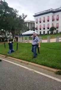"""Everyone Started Running and Screaming"" : Tallahassee Man Pulls Gun on Protesters"