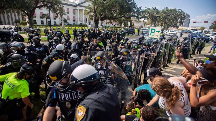 """""""It's Too F***ing Late"""" : 15 Protesters Arrested by TPD"""