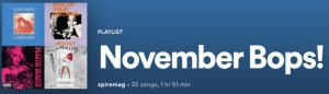 November in Music: Bops and Flops
